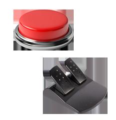 押しボタン,フットボタン